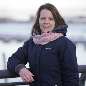 Stadsfullmäktigeledamot Elin Andersson från Borgå