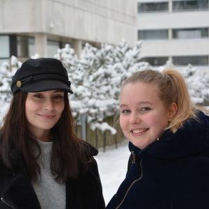 Profilbild på Sara Grandén och Ida Helle.