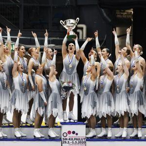Helsinki Rockettes på högsta pallen i FM