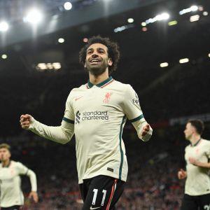 Mohamed Salah firar mål.