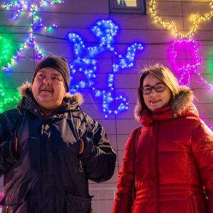 Petri Hytönen och Susann Hartman