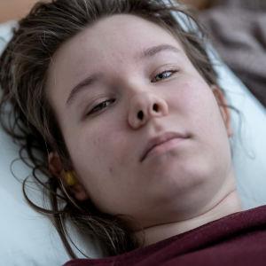 Kroonista väsymysoireyhtymää (CFS) sairastava Nelli Hänninen, Espoo, 21.2.2020.