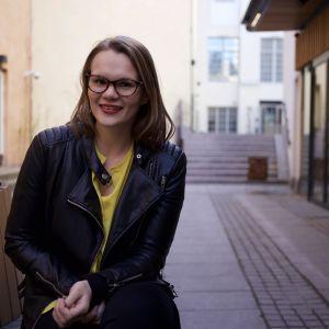 Porträtt av Sofia Strömgård.