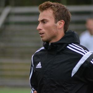Patrick Byskata, mittfältare i KPV.