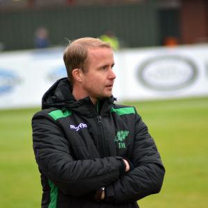 Jens Mattfolk är tränare för Ekenäs IF.