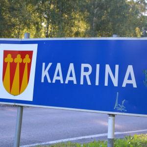 S:t Karins skylt