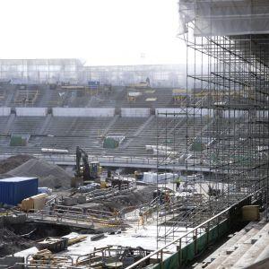 Olympiastadion i Helsingfors renoveras.
