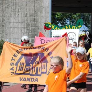 Västersundoms skola, Stafettkarnevalen 2018.