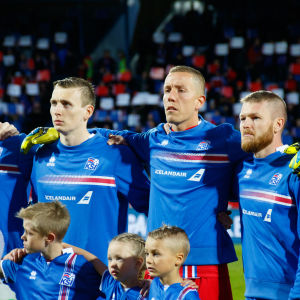Kari Arnason, Jon Bodvarsson, Hannes Halldorsson och Aron Gunnarson är nyckelspelare i den gyllene generationen av isländska spelare.