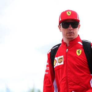 Kimi Räikkönen kör formel 1.