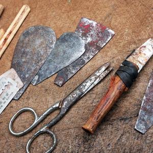 Tillhyggen använda för kvinnlig könsstympning.