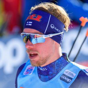 Joni Mäki tionde i sprinten i Davos.