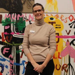 Pernilla Wiik är amanuens för publikarbete på Emma.