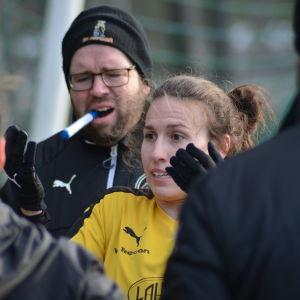 Chelsy Swackhamer förväntas göra mål för IK Myran.