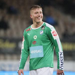 Gustaf Backaliden spelar för IFK Mariehamn.