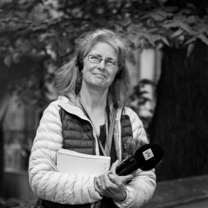 Anna Savonius, journalist vid Svenska Yle.