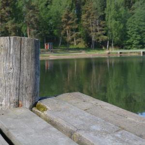 Bläsnäs badstrand i Pargas