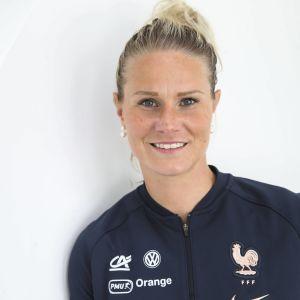 Amandine Henry är kapten för Frankrike.