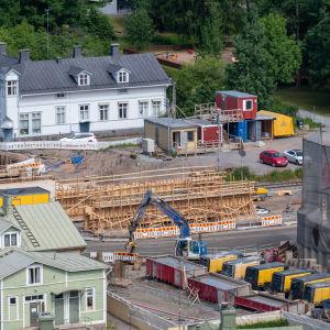 Tunnelbygge i Hangö