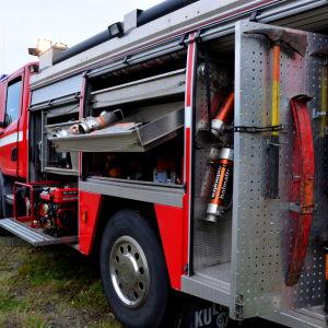 Brandkårsbil.