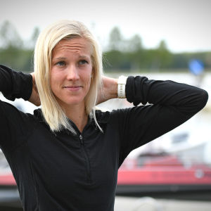 Camilla Richardsson poserar.