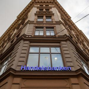 Handelsbanken Helsingissä.