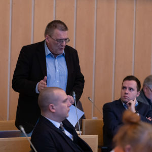 Tampereen kaupunginvaltuusto.