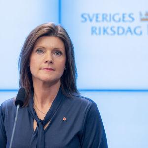 Eva Nordmark (S), arbetsmarknadsminister.
