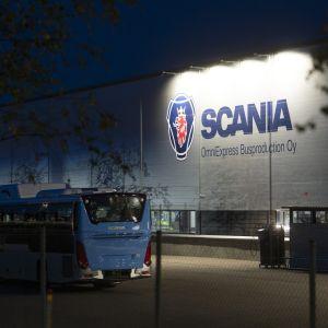 Scanias fabrik i lahtis.