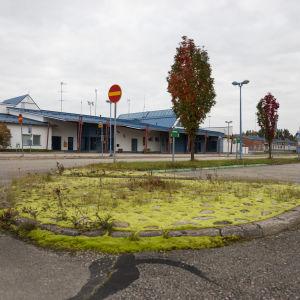 Suljettu Kajaanin lentoasema syyskuussa