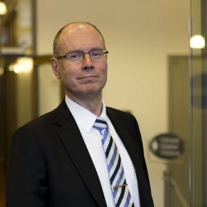Arto Jääskeläinen vid Justitieministeriet.
