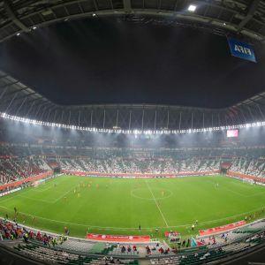 Arena i Qatar 2021.