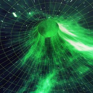 Grafisk framställning av hyperrymden.