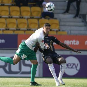 IFK Mariehamns lagkapten Robin Buwalda