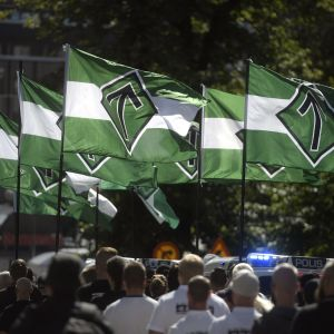 Nordiska motståndsrörelsens marsch i Åbo