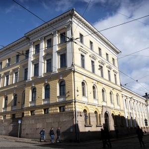 Valtioneuvooston lina Helsingissä.