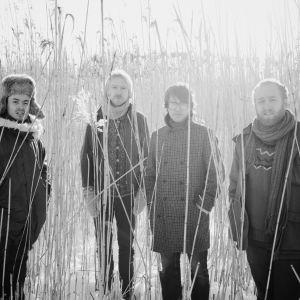 Svenska Kaputt, från vänster: Johan Holmegard, Reine Fiske, Torbjörn Zetterberg, Jonas Kullhammar