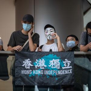 Hongkong demonstranter