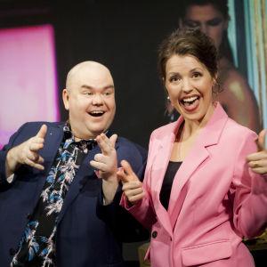 Eva Frantz och Johan Lindroos