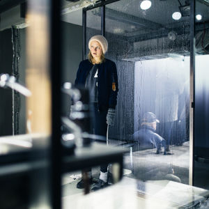 Foto från 9 hyvää syytä elää på Ryhmäteatteri.