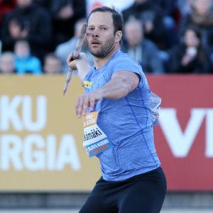 Tero Pitkämäki siktar på VM.