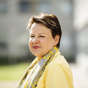 Kuvassa on Kirsi Varhila heinäkuussa 2020.