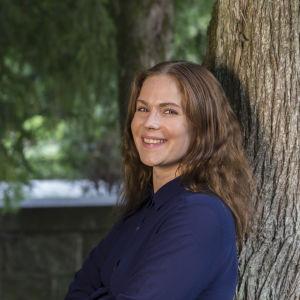 Näyttelijä Pihla Viitala.