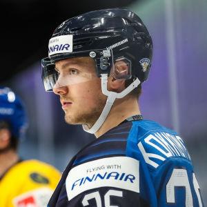 Jukurits 19-årige back Mikko Kokkonen har fem ligasäsonger och två JVM-turneringar i bagaget.