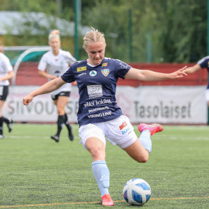 Åland Unitedin Dana Leskinen.