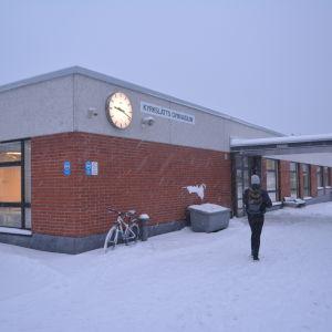 Kyrkslätts gymnasium.