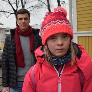 Roger Nyström och Isabella Nyström.