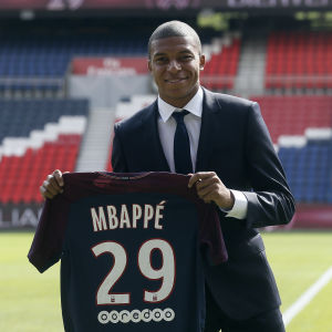 Kylian Mbappé.