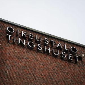 Helsingin käräjäoikeus Ruoholahdessa 19. helmikuuta.