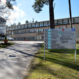 Bild på Raseborgs sjukhus.